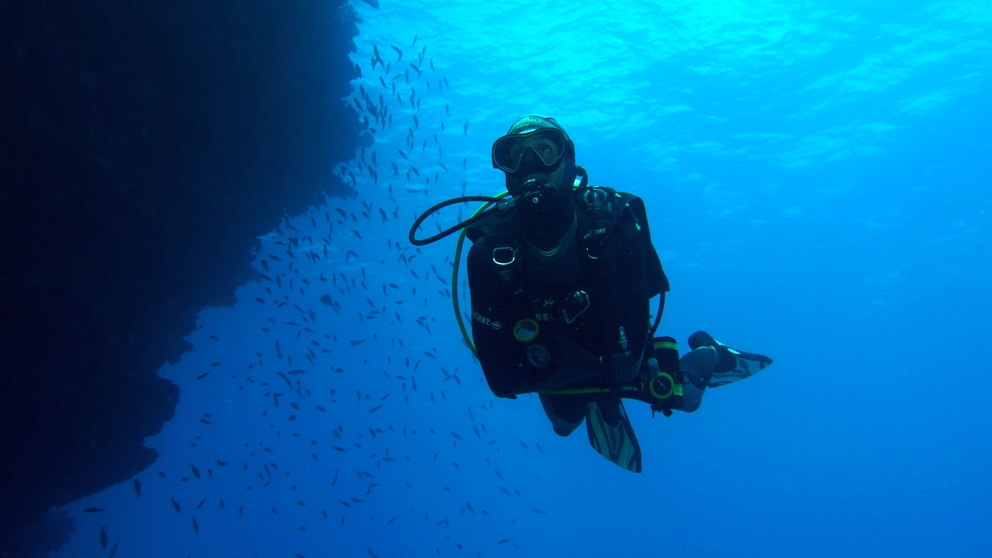 Scuba Diving in the Astrolabe Reef Fiji